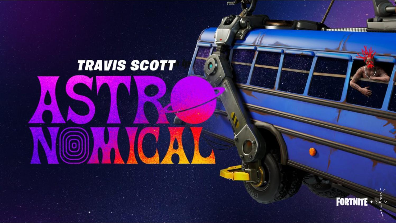 Travis Scott brindó un impresionante show en Fornite: fechas y horarios para verlo en vivo