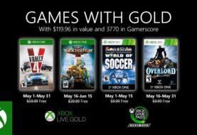 Microsoft anunció que habrá juegos gratis en el mes de mayo para los usuarios de Xbox Live Gold