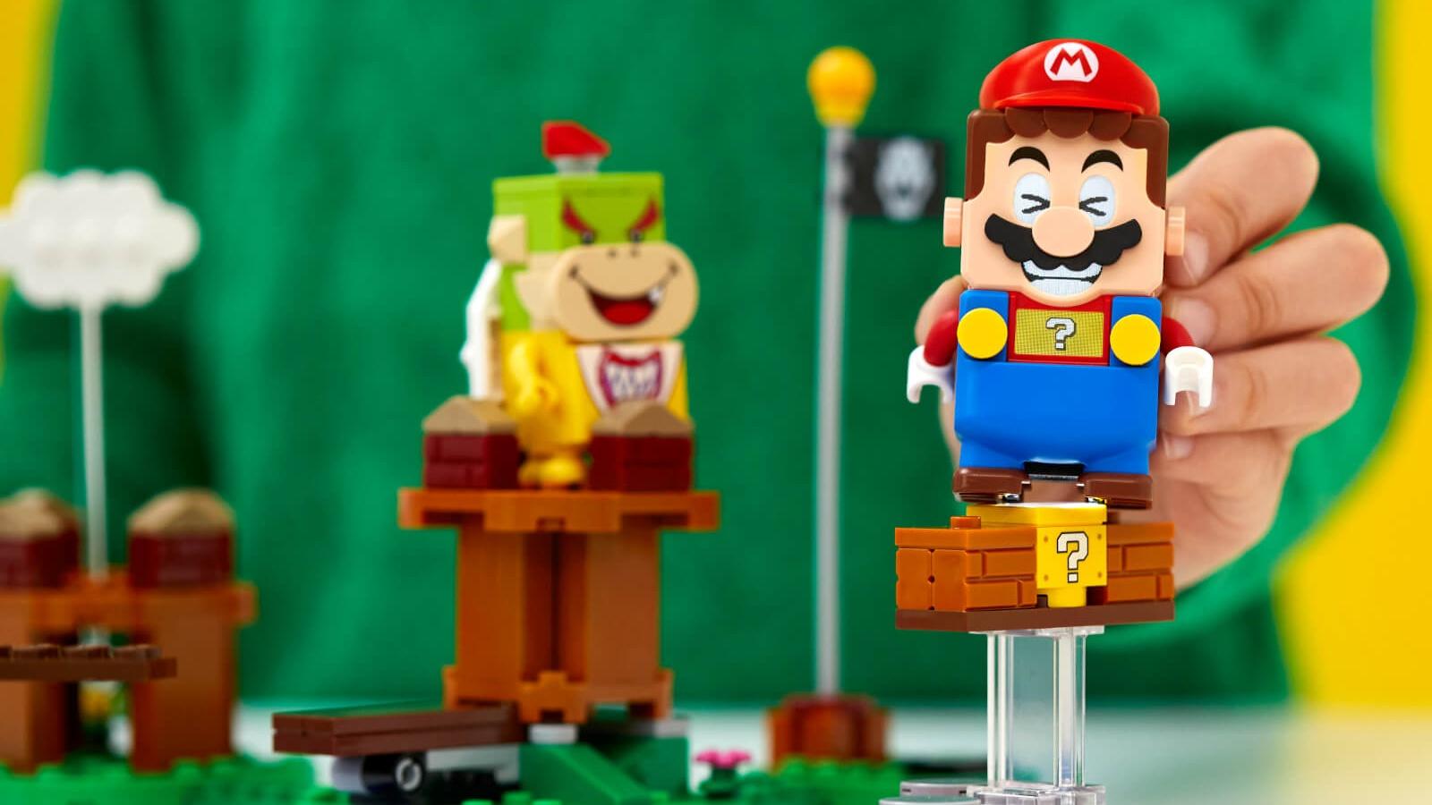 LEGO Super Mario ya cuenta con sets confirmados, precios y fecha de lanzamiento