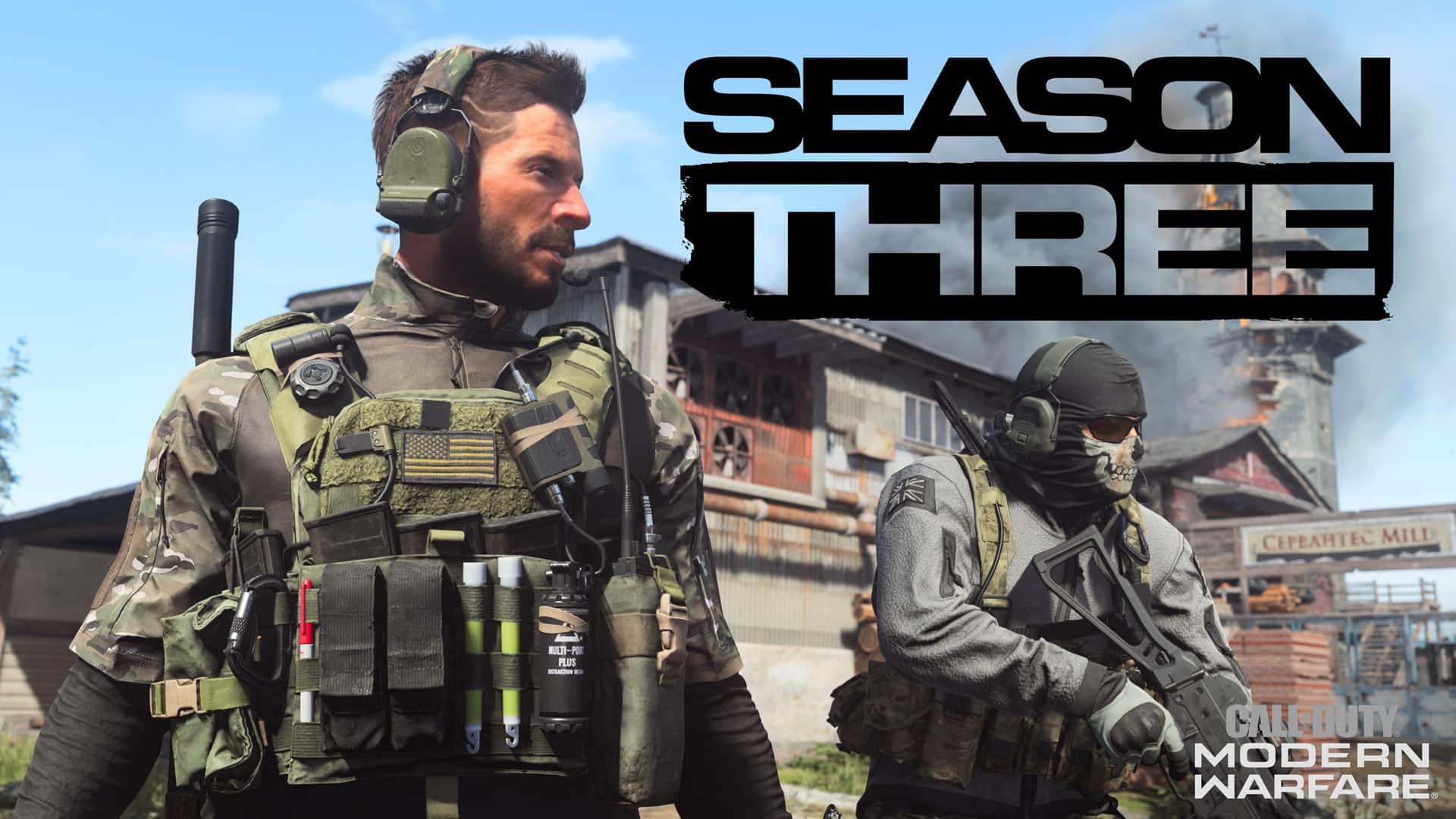 Call of Duty Warzone reveló todas la novedades de la Temporada 3: operadores, mapas y armas