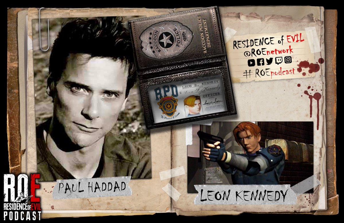 """Murió Paul Haddad, la voz original de """"León"""" en Resident Evil 2, con apenas 56 años"""