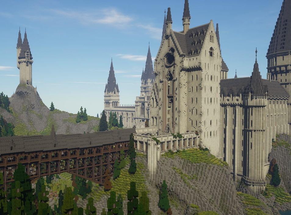 El mapa  de Minecraft basado en Harry Potter está terminado: es realmente increíble