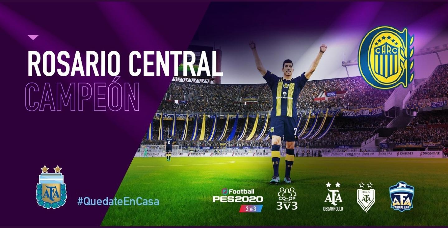 [FINALIZADO] AFA Virtual Liga: Rosario Central fue más que Huracán y se quedó con la Copa 3vs.3 #QuedateEnCasa