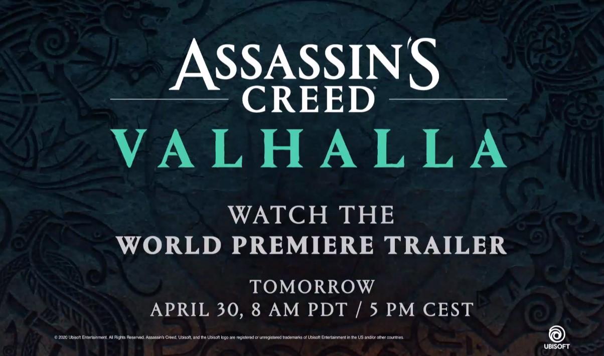 Se confirmó el próximo Assassin's Creed: se llamará Valhalla y será vikingo como se sospechaba