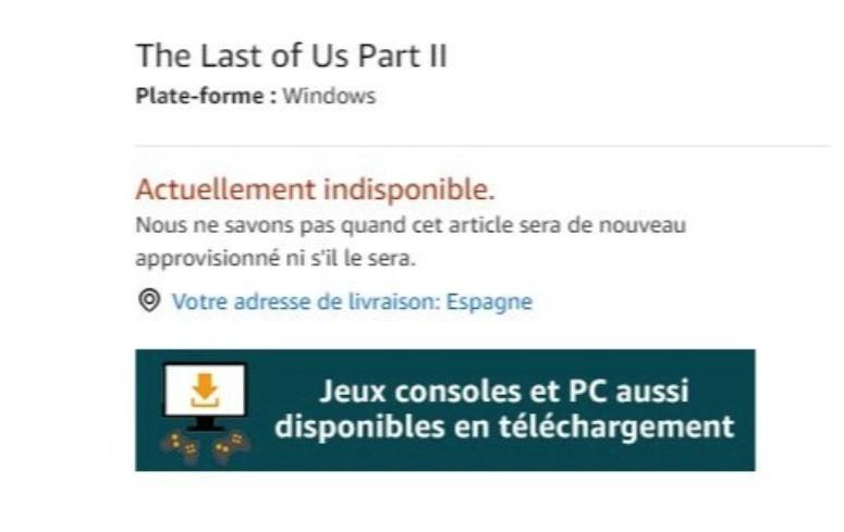 Amazon Francia publicó en su catálogo Mario Odyssey, Persona y The Last of Us para PC: es todo falso
