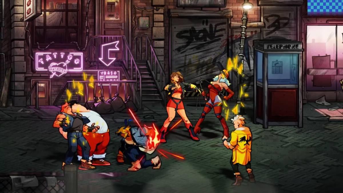 Ya se encuentra a la venta Streets of Rage 4 para Nintendo Switch y se publicó un nuevo tráiler
