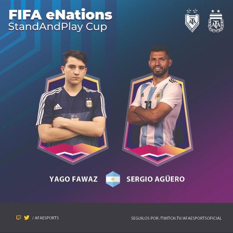 [FINALIZADO] FIFA eNations Stay And Play Cup Friendlies: el torneo de FIFA 20 con el Kun Agüero