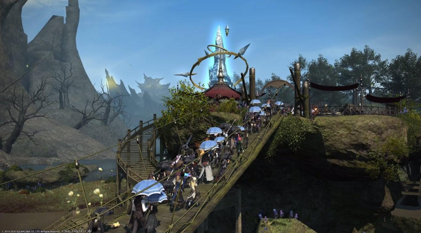 Final Fantasy celebró su primer funeral virtual de una jugadora por coronavirus