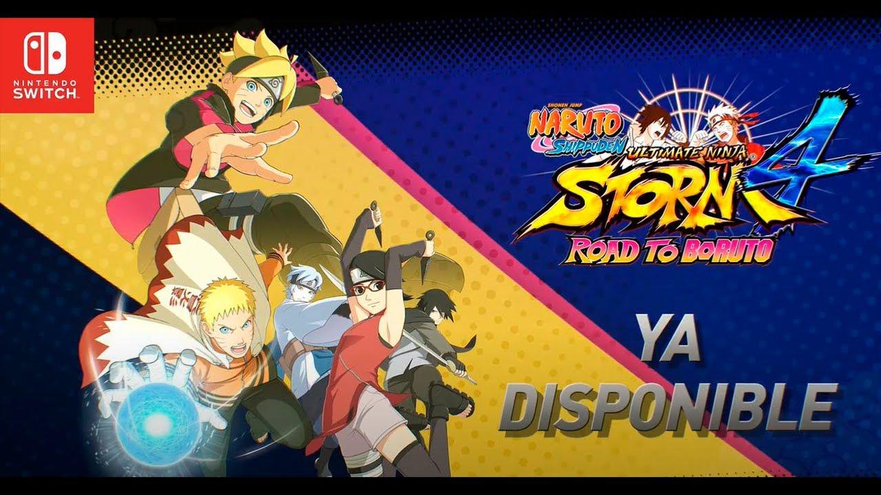 Naruto Shippuden: Ultimate Ninja Storm 4 desembarcó en Nintendo Switch