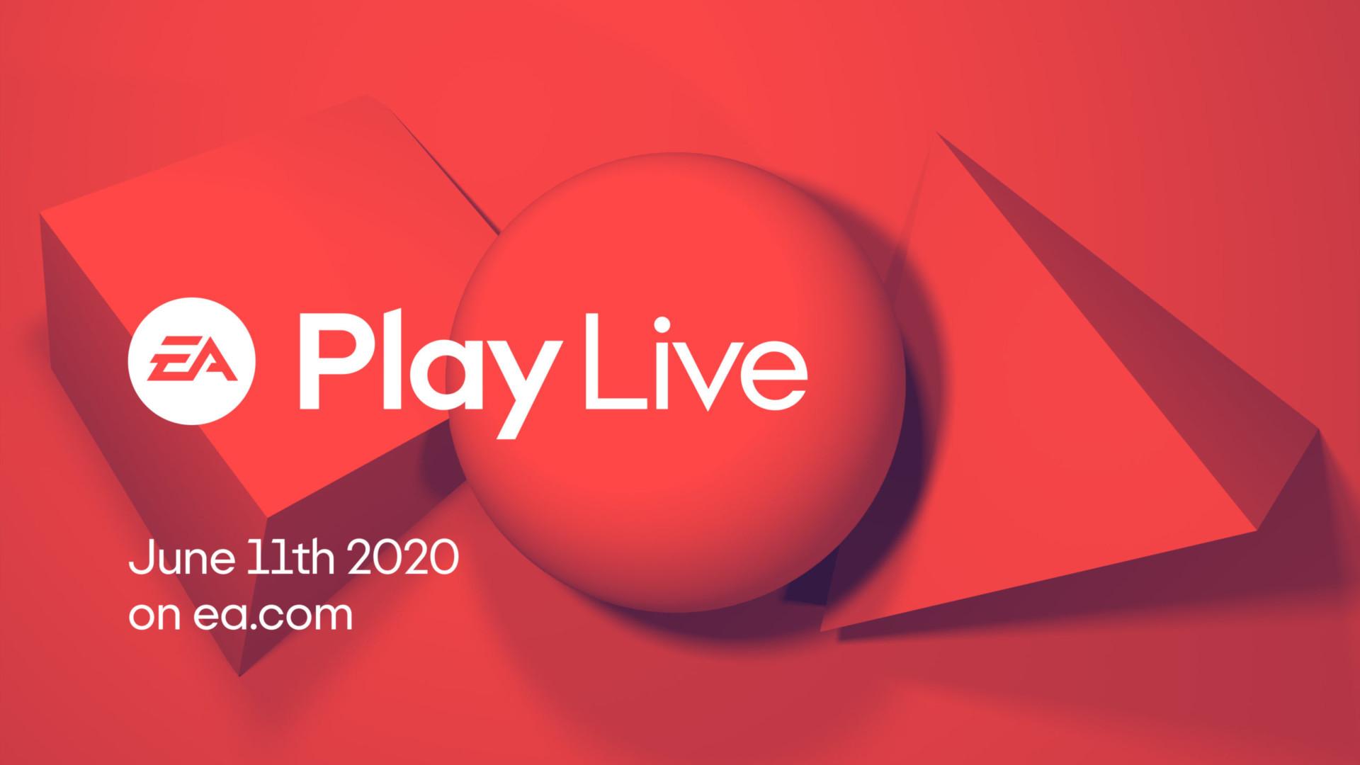Electronic Arts anunció el EA Play Live 2020 para el 11 de junio