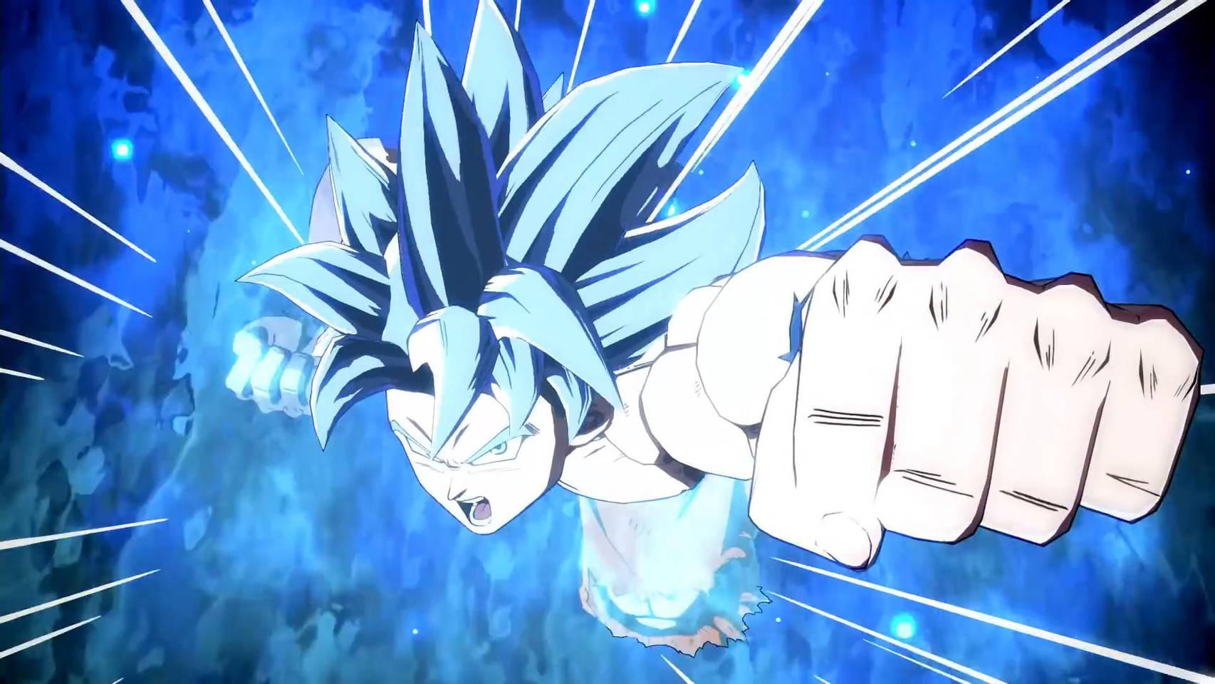 Dragon Ball FighterZ publicó un tráiler en donde se observa a Goku Ultra Instinto en plena acción