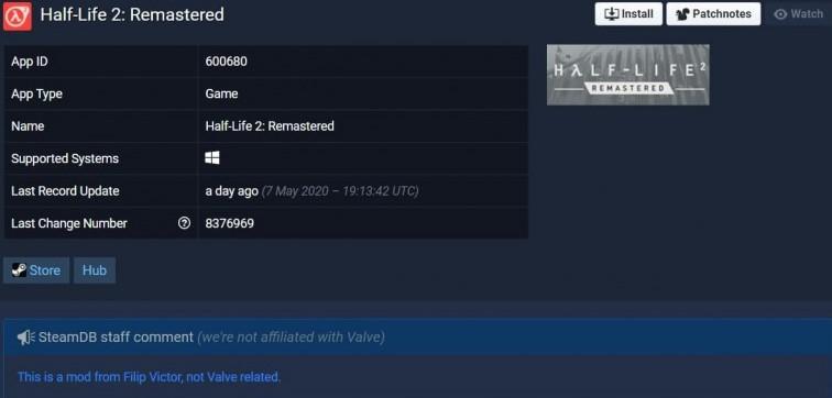 Half Life 2 Remastered