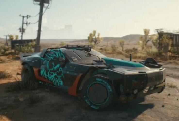 Cyberpunk 2077 festejó el aniversario de Mad Max Fury Road con uno de los vehículos del juego