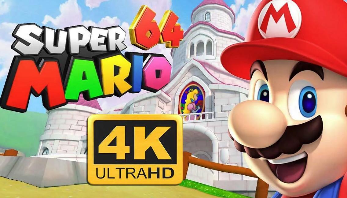 Nintendo apunta contra el port de Super Mario 64 en PC