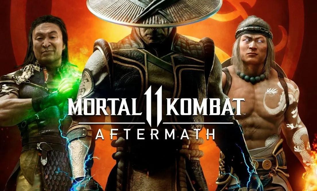 Mortal Kombat 11 presentó oficialmente y con un tráiler Aftermath, su DLC: Fujin, Sheeva y hasta RoboCop