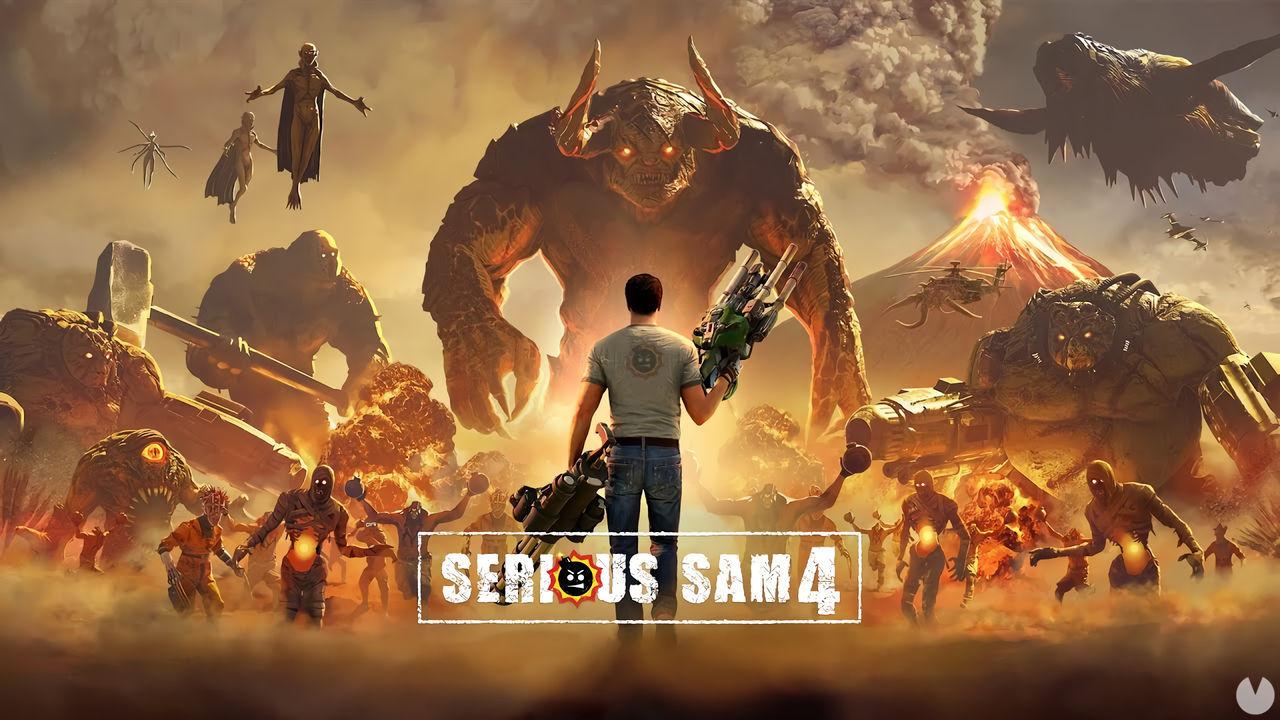Serious Sam 4 retrasa su lanzamiento en PlayStation 4 y Xbox One debido a la exclusividad con Steam