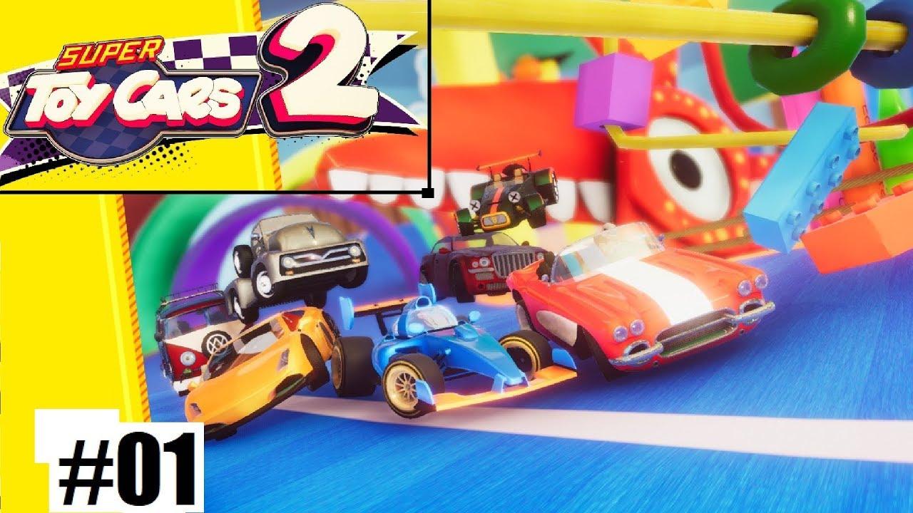 Super Toy Cars 2 estará disponible en Nintendo Switch a partir de junio