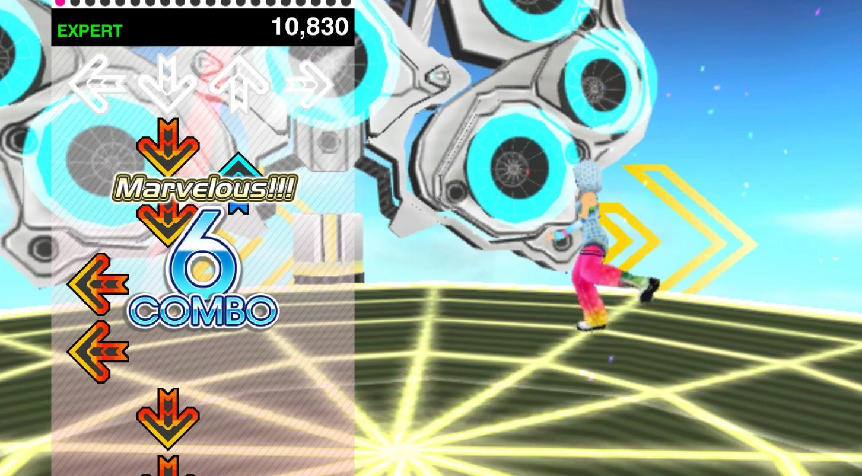 Konami lanzó Dance Dance Revolution V, el clásico de los fichines que ahora se puede jugar desde navegadores