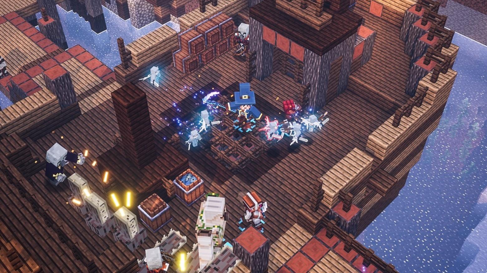 Minecraft Dungeons llegó a Xbox Game Pass Ultimate, las consolas y la PC