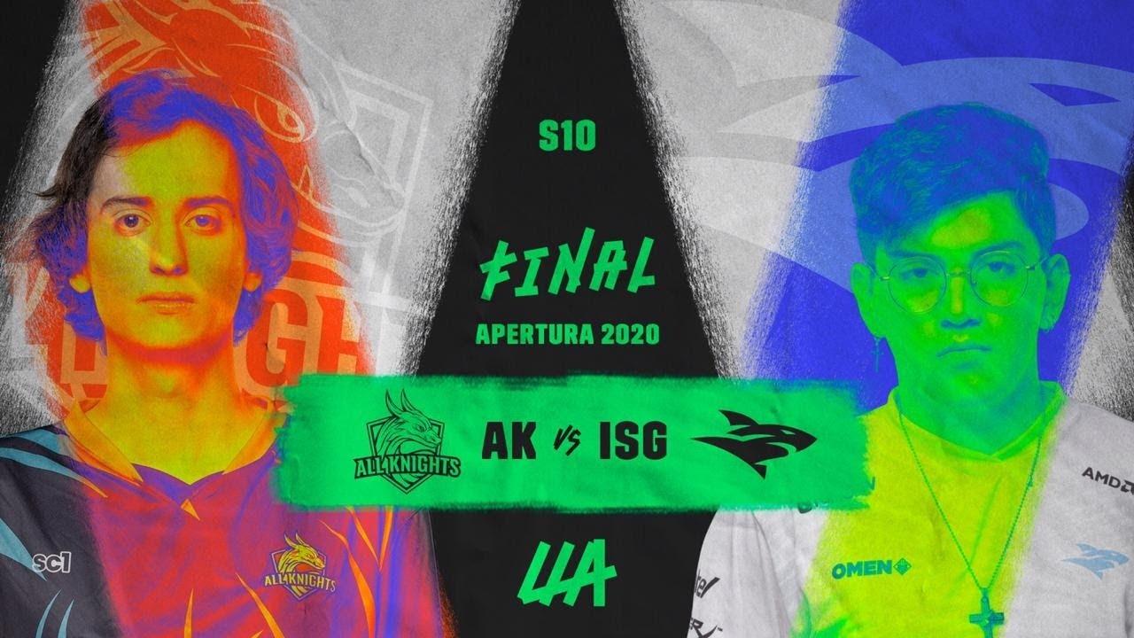 [FINALIZADO] Isurus Gaming vs. All Knights: quién será el campeón de la LLA Apertura