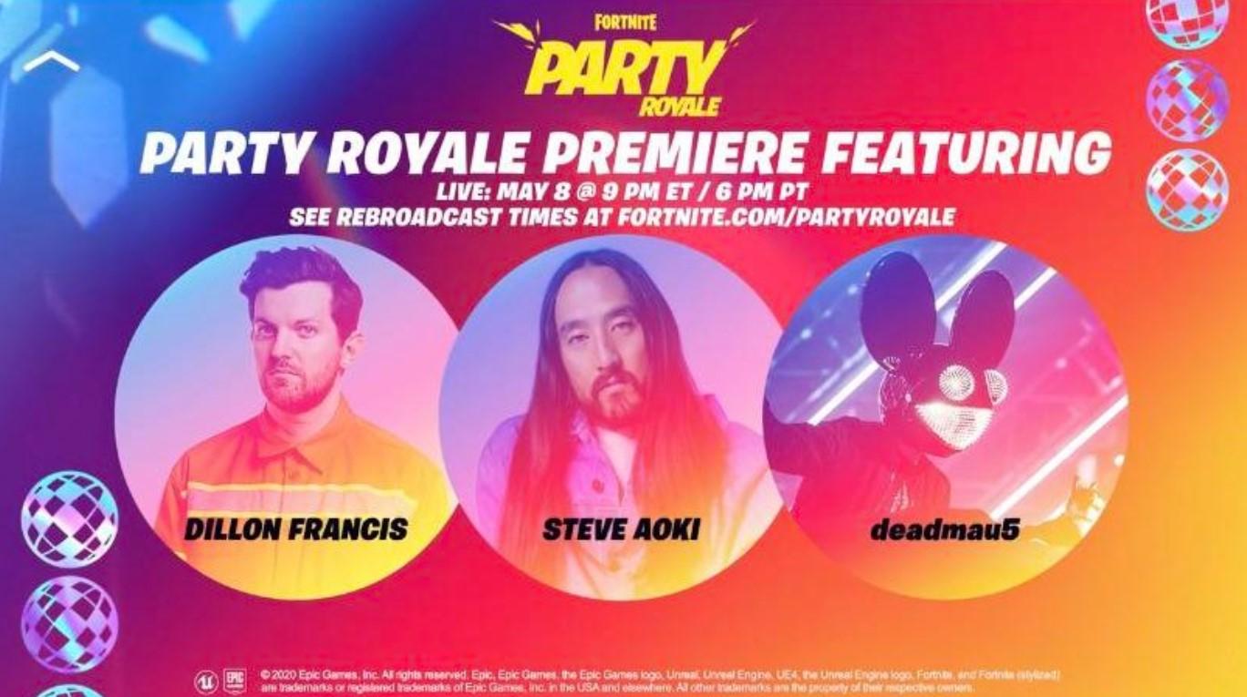 Party Royale, el evento que generó divisiones entre los fanáticos de Fortnite