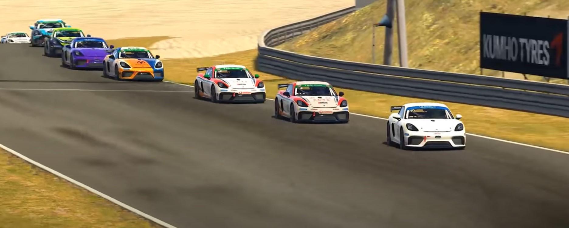 Porsche 911 GT Cup: la nueva competencia de iRacing que entrega 200.000 dólares en premios