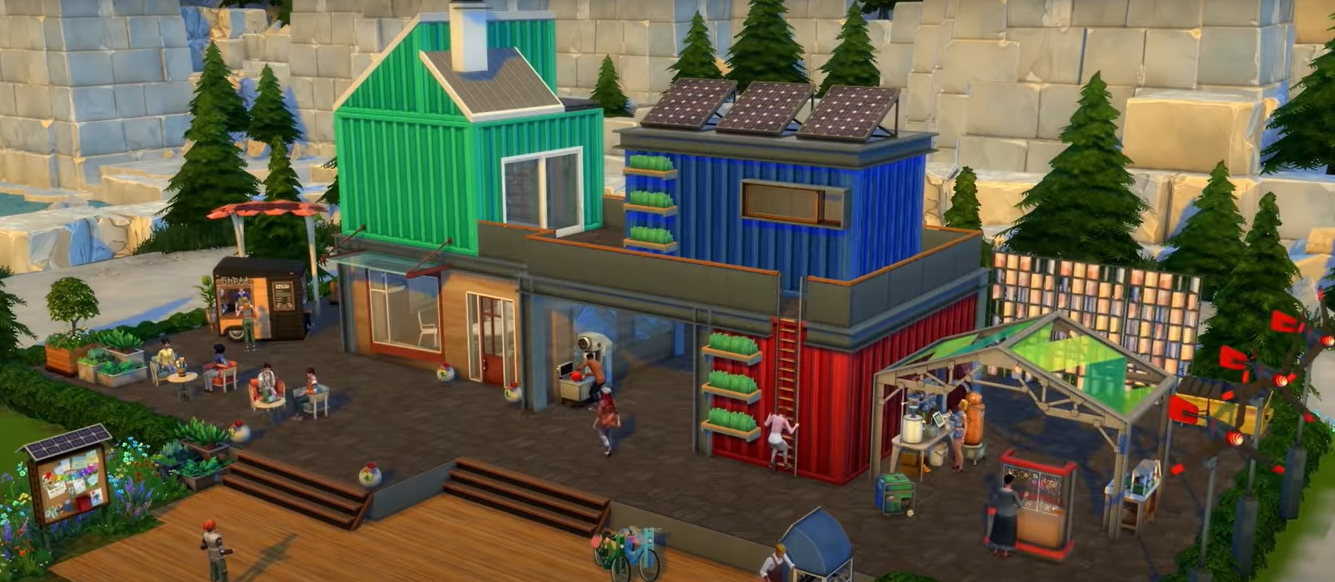 La expansión Los Sims 4 – Vida Ecológica tiene nuevo tráiler