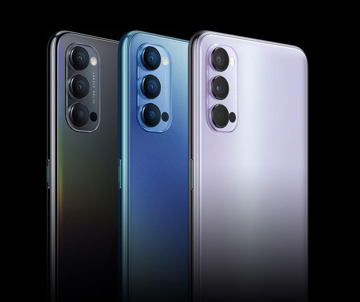 Oppo reveló la nueva familia de celulares Reno4 y Reno 4Pro con 5G y carga rápida