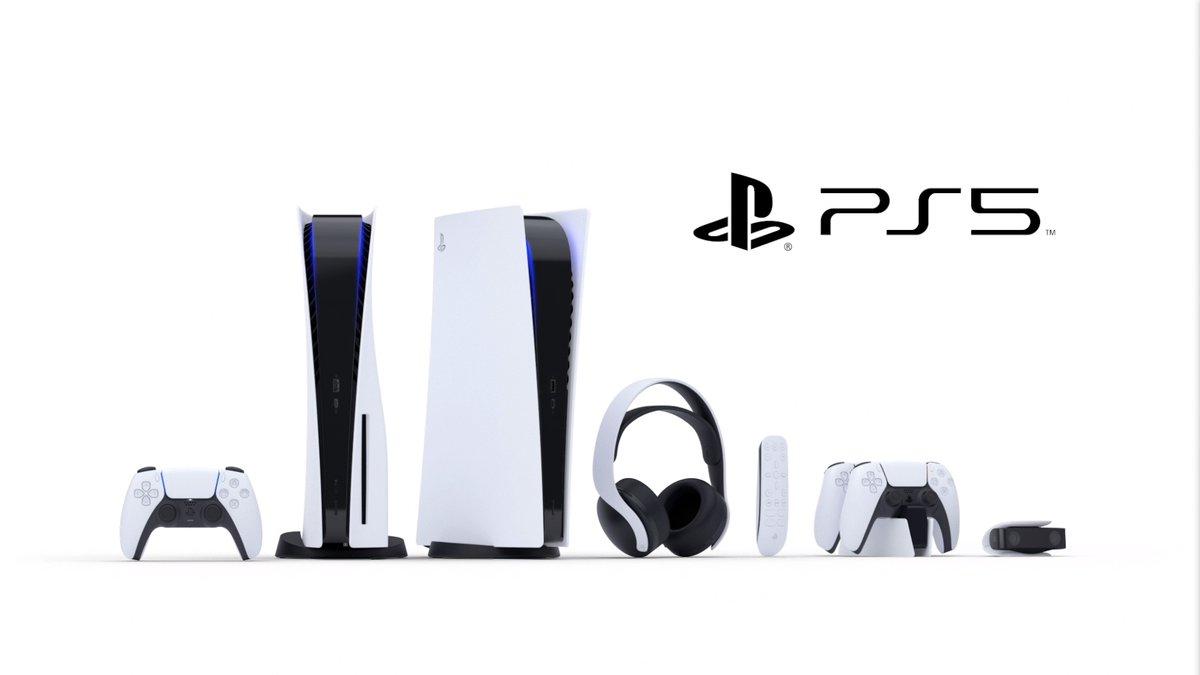 Todos los accesorios que acompañarán a la PlayStation 5 en su lanzamiento