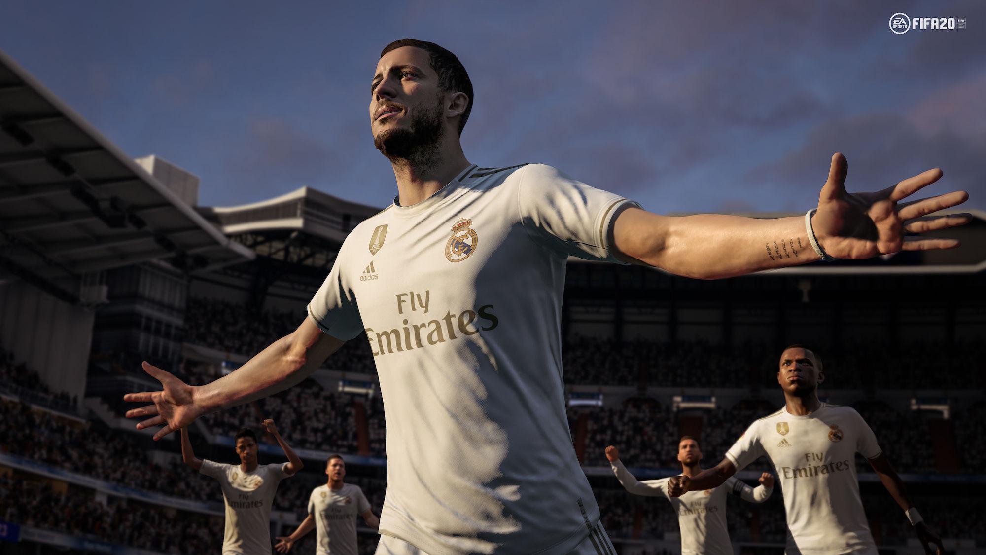 EA Sports y Real Madrid renovaron su exclusividad para FIFA 21