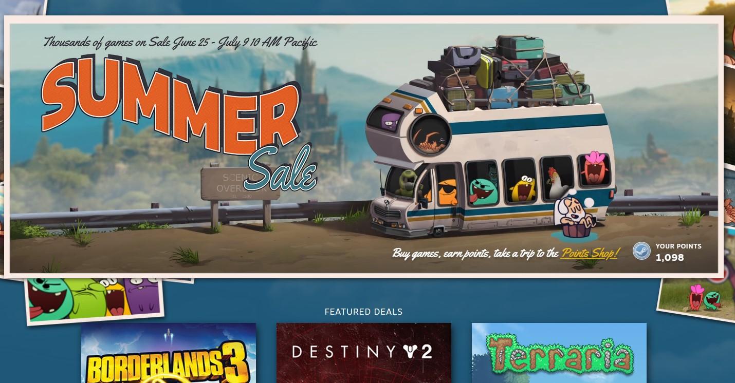 """Arrancó la rebaja de precios """"de verano"""" de Steam: enormes descuentos en el summer sale"""