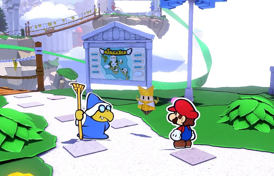 """El productor de Paper Mario: The Origami King explicó que considera """"obligatorio"""" cambiar el sistema de combate en cada juego"""
