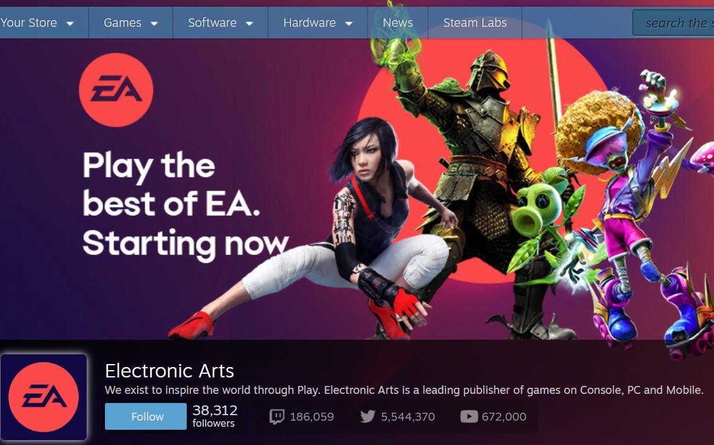 Electronic Arts vuelve a Steam y lo celebra con una gran cantidad de juegos: descuentos de 50 a 75%