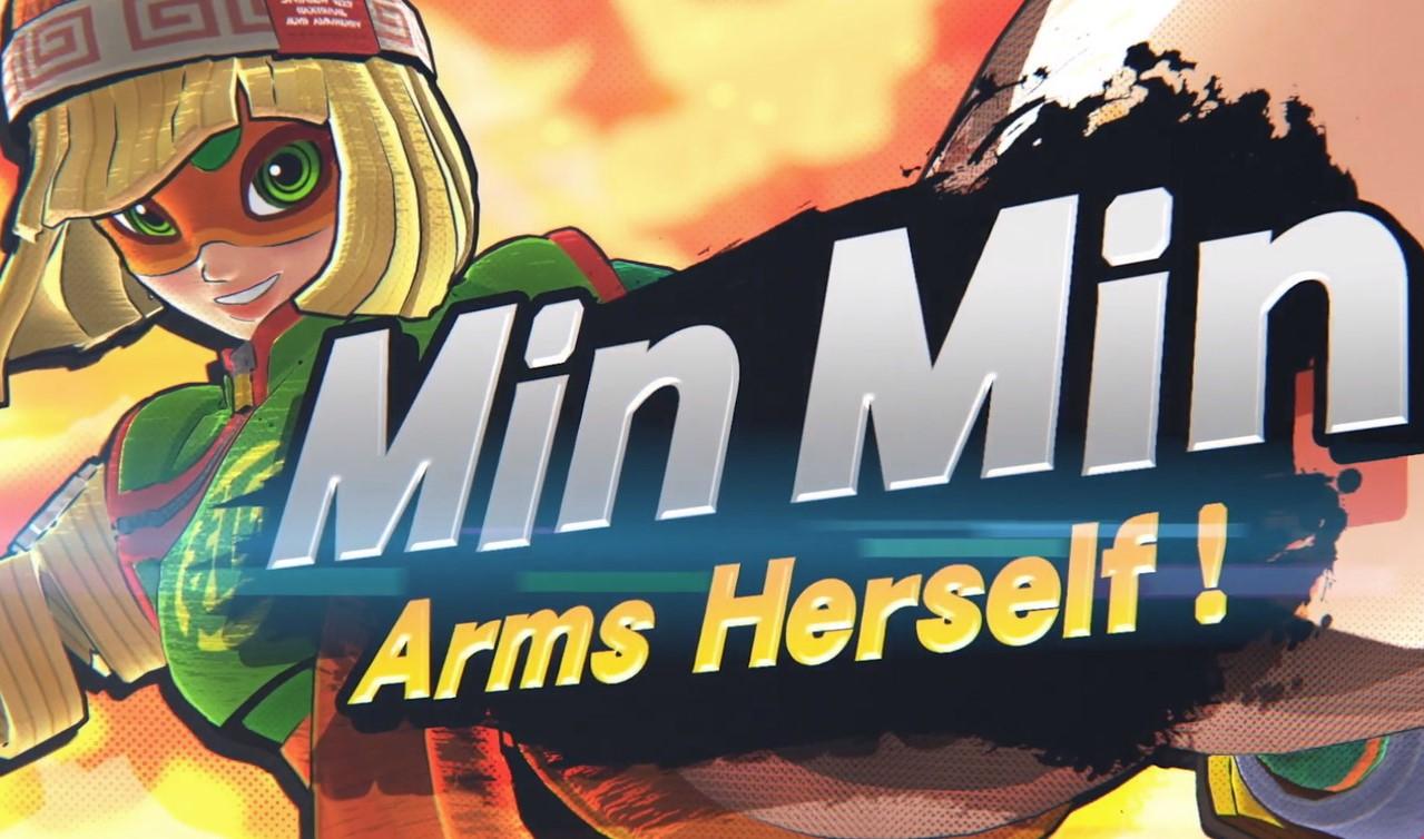 Min Min de ARMS fue anunciado como el nuevo personaje DLC de Super Smash Bros. Ultimate