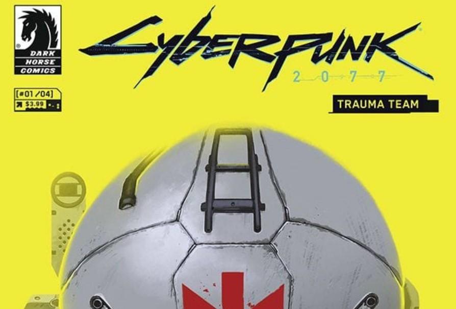 CD Projekt anunció el cómic oficial de Cyberpunk 2077: Trauma Team