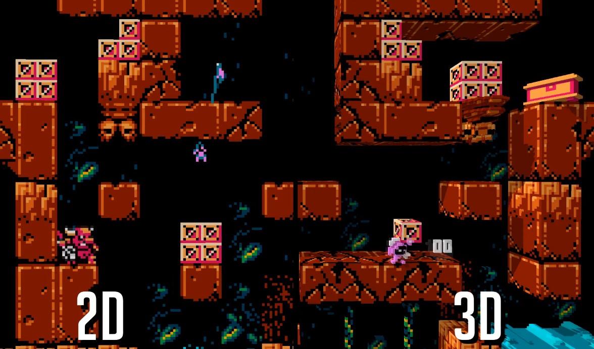 Un emulador de NES llega a Steam y es capaz de convertir los juegos clásicos a 3D