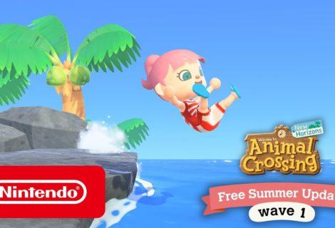 Con la nueva actualización de Animal Crossing: New Horizons se podrá nadar y bucear