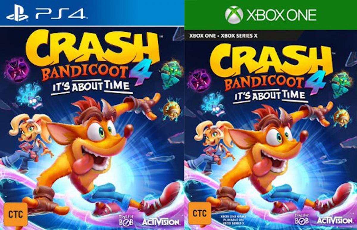 Se filtró el lanzamiento de Crash Bandicoot 4: It's About Time