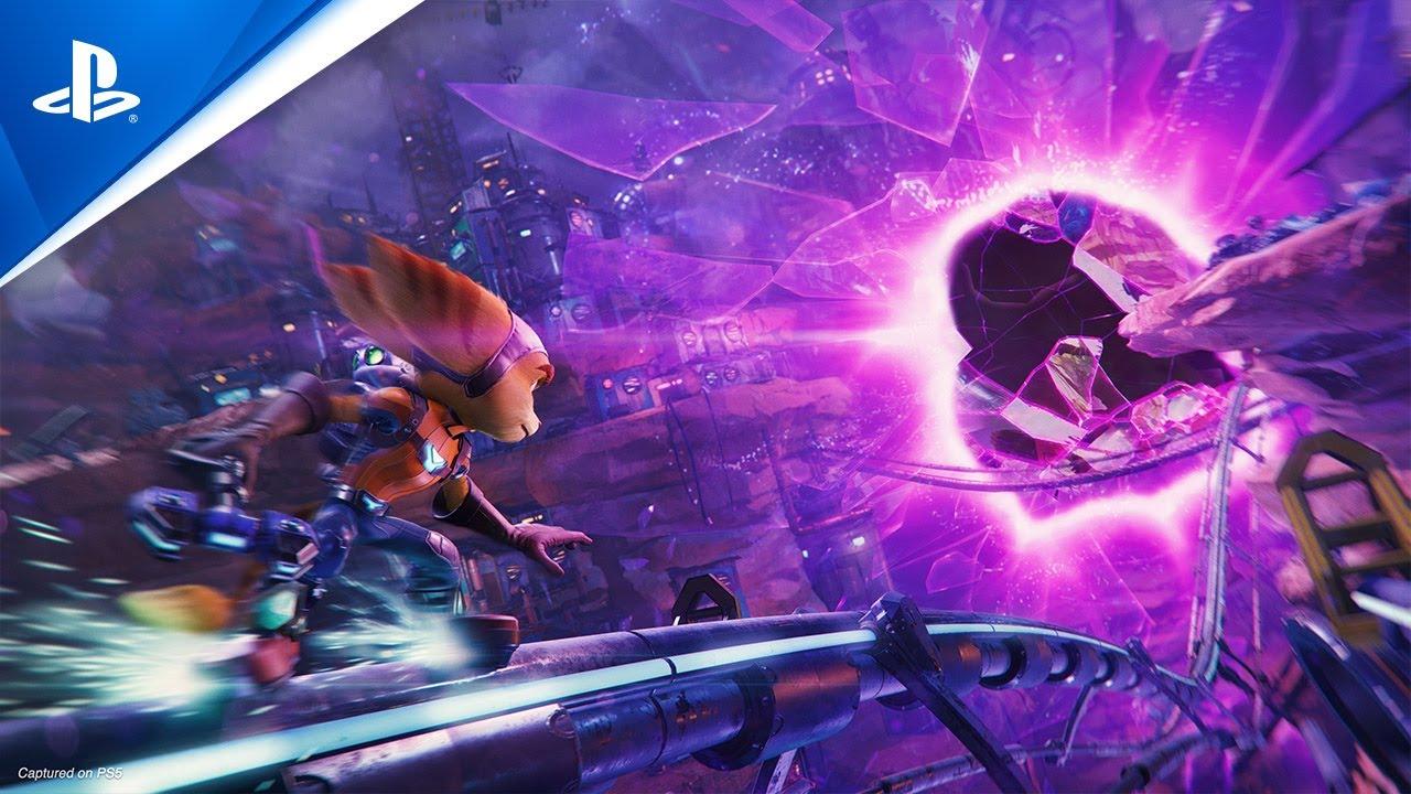 Insommianc Games dio detalles de Ratchet& Clank: Rift Apart para PlayStation 5