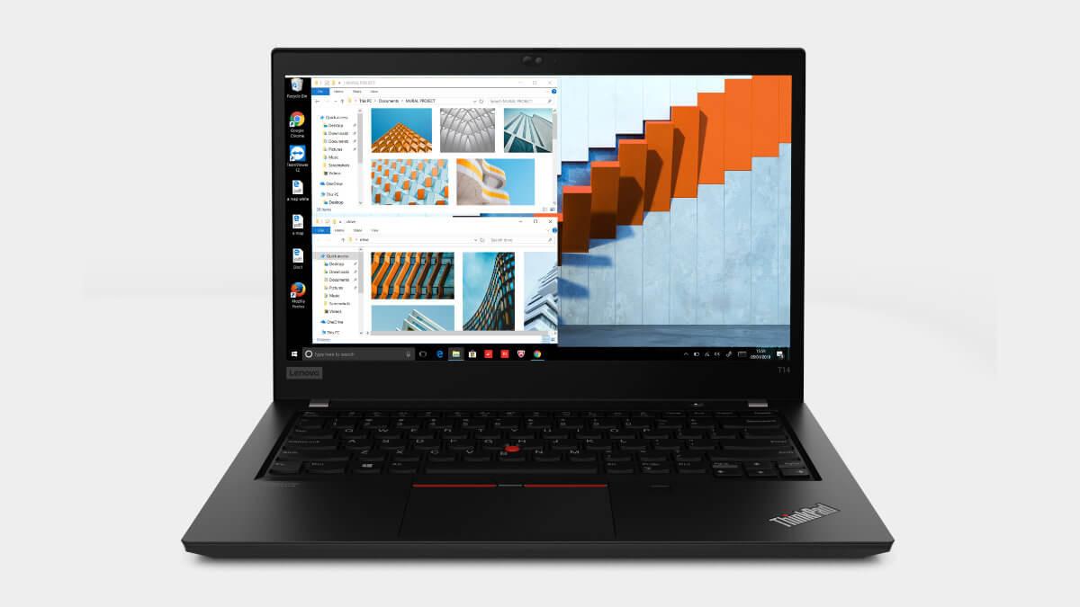 Cómo son las ThinkPad T14, T14s y T5, con procesadores Intel Core vPro de décima generación