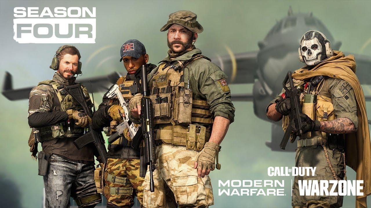 Llegó la Temporada 4 de Warzone con nuevos modos de juego, una minigun y muchas novedades