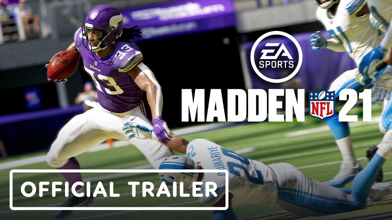 Madden NFL 21 presentó a Lamar Jackson como protagonista de la portada y su primer tráiler