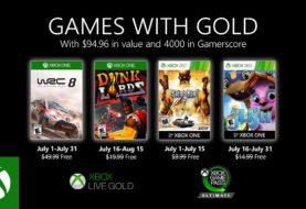 Microsoft dio a conocer los Xbox Games with Gold de julio 2020