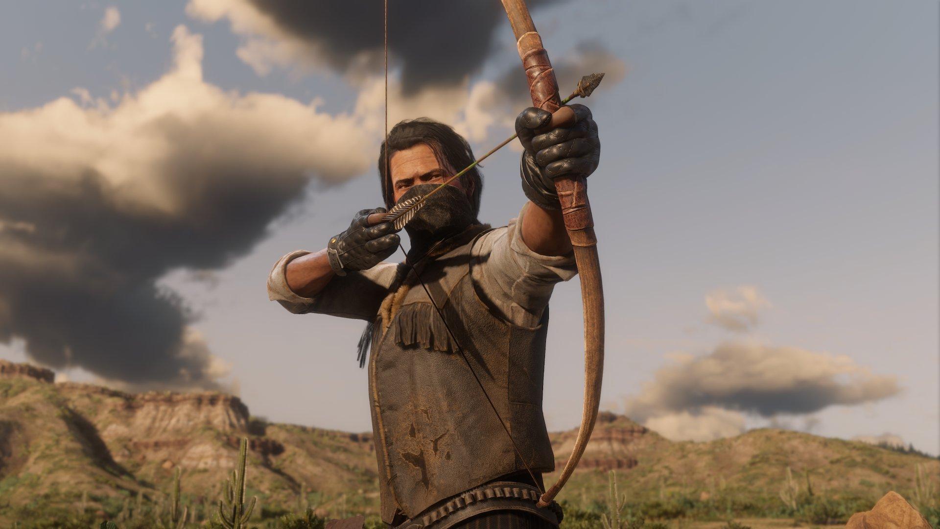 Red Dead Online, novedades de la semana: beneficios para el campamento y flechas envenenadas