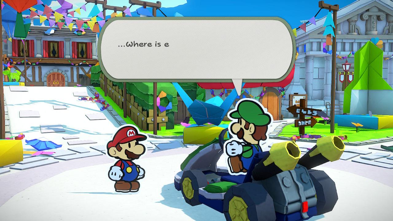 Mario y Luigi comienzan la aventura