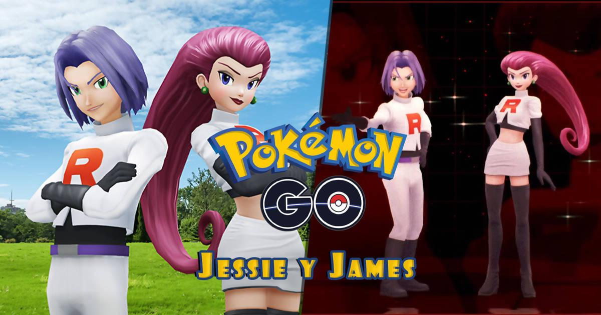 Jessie y James, los villanos del Team Rocket, se suman a Pokémon Go