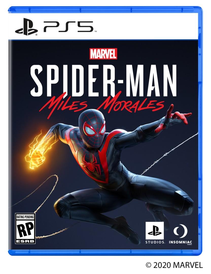 PlayStation 5 presentó la portada oficial de Marvel Spider-Man Miles Morales