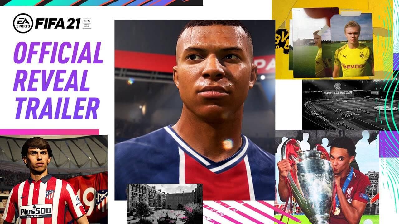 FIFA 21 deja ver varios aspectos de juego en un tráiler extendido