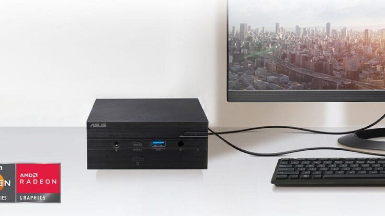 Asus presentó su nueva Mini PC PN50 con procesadores AMD Ryzen 4000