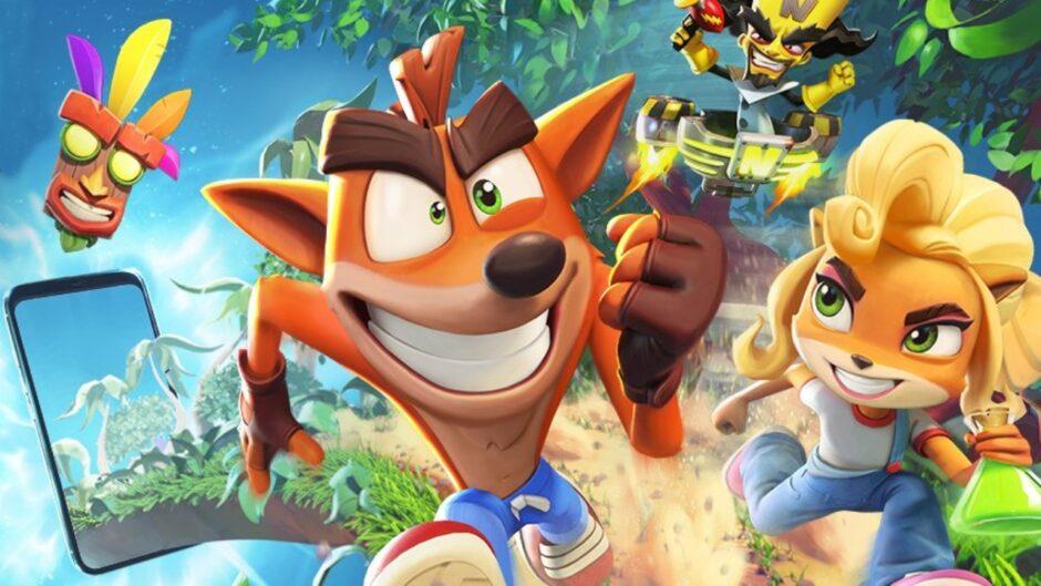 Los creadores de Candy Crush abrieron el registro para Crash Bandicoot On the Run! en celulares